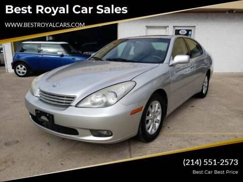 2002 Lexus ES 300 for sale at Best Royal Car Sales in Dallas TX