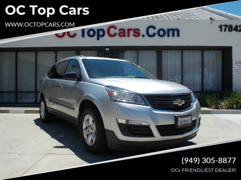 2014 Chevrolet Traverse for sale at OC Top Cars in Irvine CA