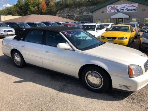 2000 Cadillac DeVille for sale at Gilly's Auto Sales in Rochester MN