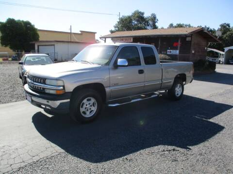 2002 Chevrolet Silverado 1500 for sale at Manzanita Car Sales in Gridley CA