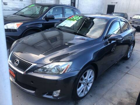 2010 Lexus IS 250 for sale at Excelsior Motors , Inc in San Francisco CA