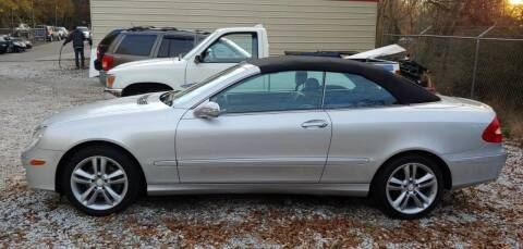 2008 Mercedes-Benz CLK for sale at Buddy's Auto Inc in Pendleton SC