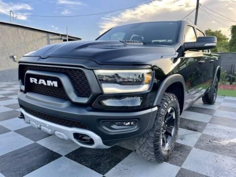 2019 RAM Ram Pickup 1500 for sale at Imperial Capital Cars Inc in Miramar FL