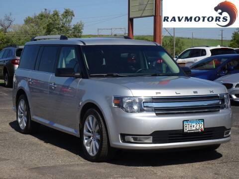 2015 Ford Flex for sale at RAVMOTORS in Burnsville MN