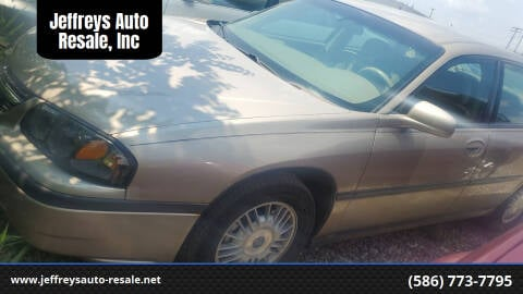 2003 Chevrolet Impala for sale at Jeffreys Auto Resale, Inc in Clinton Township MI
