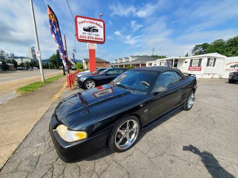 1994 Ford Mustang for sale at Ford's Auto Sales in Kingsport TN