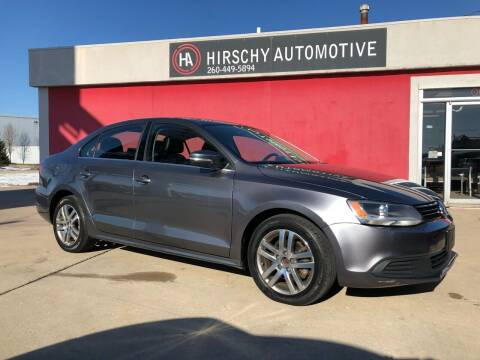 2013 Volkswagen Jetta for sale at Hirschy Automotive in Fort Wayne IN