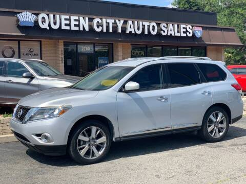 2013 Nissan Pathfinder for sale at Queen City Auto Sales in Charlotte NC