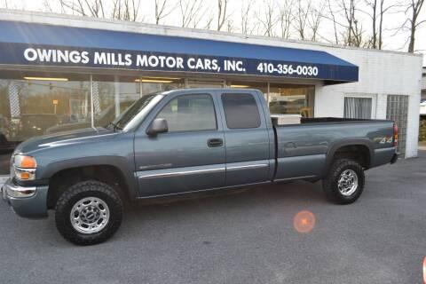 2006 GMC Sierra 2500HD for sale at Owings Mills Motor Cars in Owings Mills MD