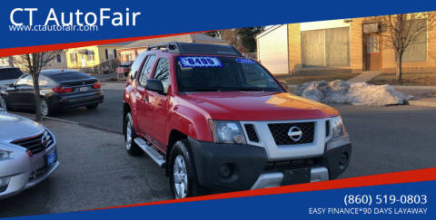 2009 Nissan Xterra for sale at CT AutoFair in West Hartford CT