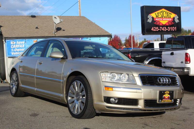 2004 Audi A8 L for sale at West Coast Auto Works in Edmonds WA