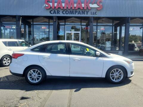2015 Ford Focus for sale at Siamak's Car Company llc in Salem OR