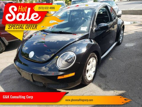 2008 Volkswagen New Beetle for sale at G&K Consulting Corp in Fair Lawn NJ