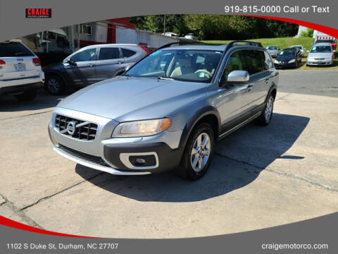 2010 Volvo XC70 for sale at CRAIGE MOTOR CO in Durham NC