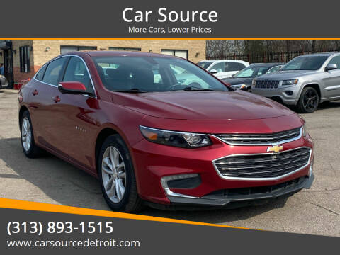 2017 Chevrolet Malibu for sale at Car Source in Detroit MI