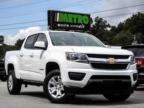 2017 Chevrolet Colorado for sale at Metro Auto Credit in Smyrna GA