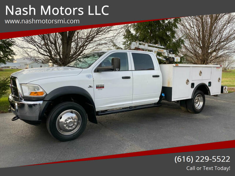 2011 RAM Ram Chassis 4500 for sale at Nash Motors LLC in Hudsonville MI