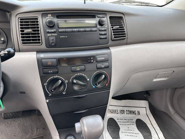 2004 Toyota Corolla for sale at Hunter's Auto Inc in North Hollywood CA