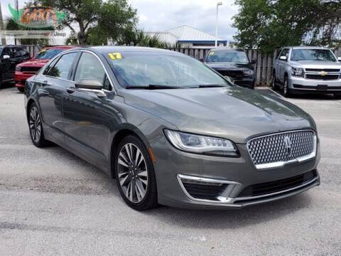 2017 Lincoln MKZ for sale at GATOR'S IMPORT SUPERSTORE in Melbourne FL