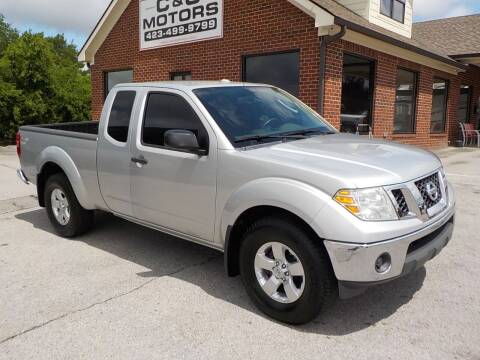 2011 Nissan Frontier for sale at C & C MOTORS in Chattanooga TN