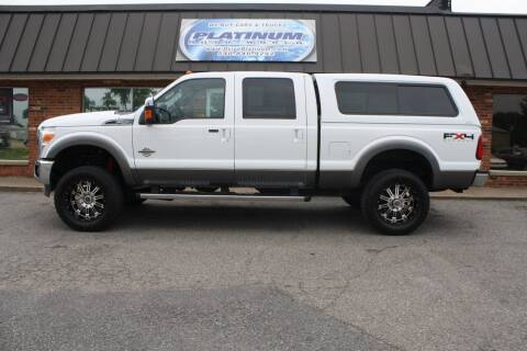 2011 Ford F-250 Super Duty for sale at Platinum Auto World in Fredericksburg VA