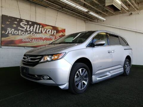 2014 Honda Odyssey for sale at SULLIVAN MOTOR COMPANY INC. in Mesa AZ