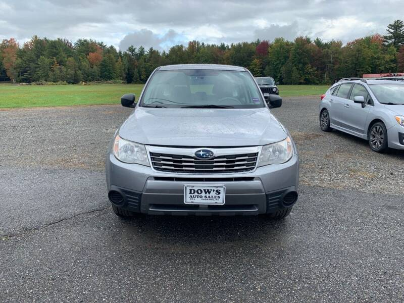 2010 Subaru Forester for sale at DOW'S AUTO SALES in Palmyra ME