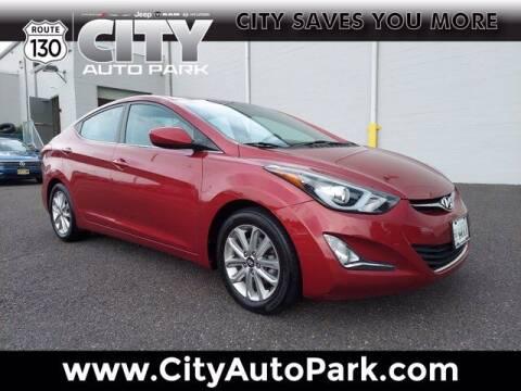2015 Hyundai Elantra for sale at City Auto Park in Burlington NJ