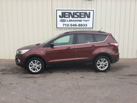 2018 Ford Escape for sale at Jensen's Dealerships in Sioux City IA