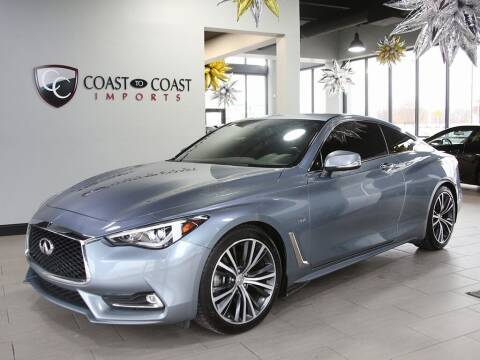 2018 Infiniti Q60 for sale at Coast to Coast Imports in Fishers IN