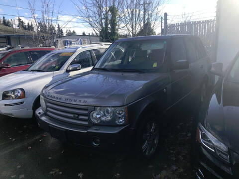 2008 Land Rover Range Rover for sale at Car Craft Auto Sales Inc in Lynnwood WA