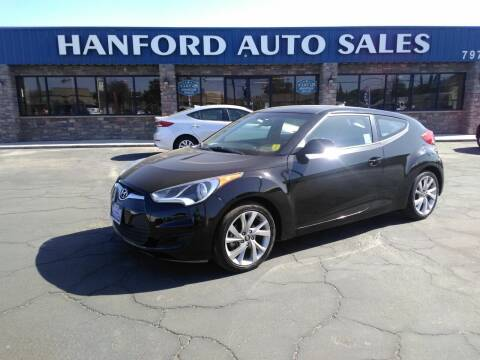 2016 Hyundai Veloster for sale at Hanford Auto Sales in Hanford CA