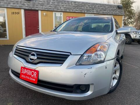 2007 Nissan Altima for sale at Superior Auto Sales, LLC in Wheat Ridge CO