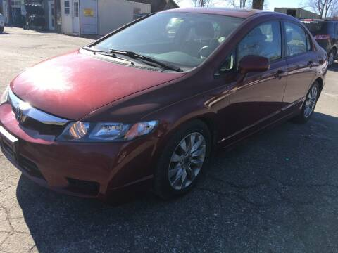 2011 Honda Civic for sale at BRATTLEBORO AUTO SALES in Brattleboro VT