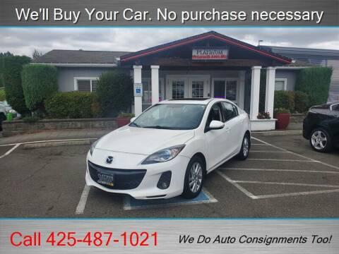 2013 Mazda MAZDA3 for sale at Platinum Autos in Woodinville WA