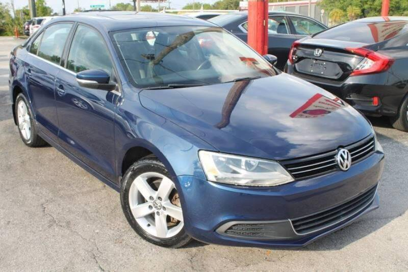 2013 Volkswagen Jetta for sale at Mars auto trade llc in Kissimmee FL