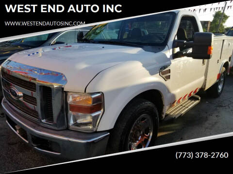2010 Ford F-350 Super Duty for sale at WEST END AUTO INC in Chicago IL