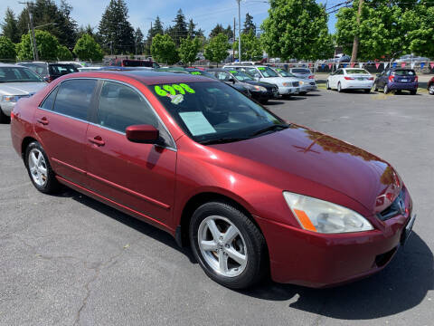 2004 Honda Accord for sale at Pacific Point Auto Sales in Lakewood WA