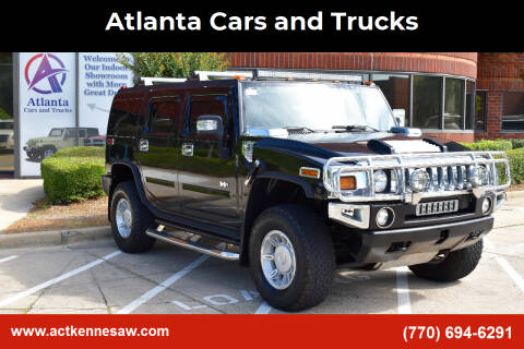 2006 HUMMER H2 for sale at Atlanta Cars and Trucks in Kennesaw GA