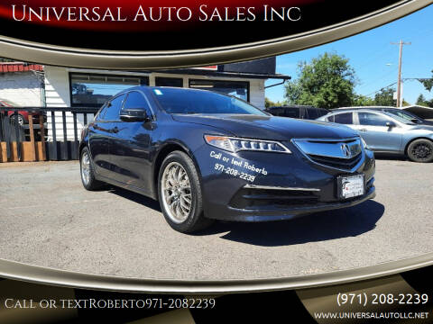 2015 Acura TLX for sale at Universal Auto Sales Inc in Salem OR