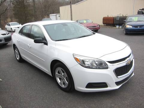 2014 Chevrolet Malibu for sale at K & R Auto Sales,Inc in Quakertown PA