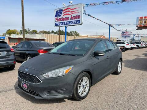 2016 Ford Focus for sale at Nations Auto Inc. II in Denver CO