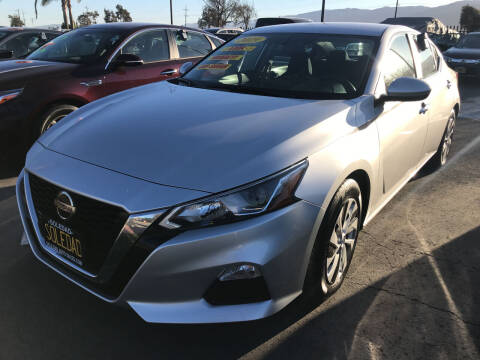 2019 Nissan Altima for sale at Soledad Auto Sales in Soledad CA