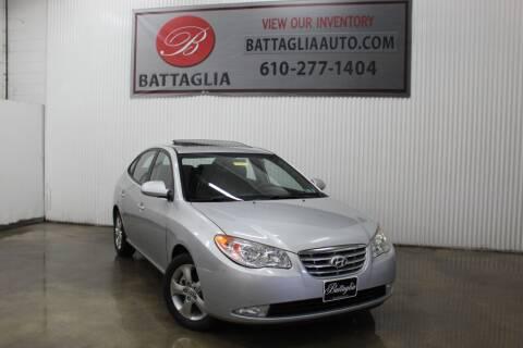 2010 Hyundai Elantra for sale at Battaglia Auto Sales in Plymouth Meeting PA