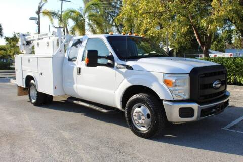 2012 Ford F-350 Super Duty for sale at Truck and Van Outlet - All Inventory in Hollywood FL