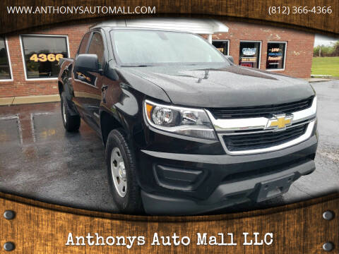 2018 Chevrolet Colorado for sale at Anthonys Auto Mall LLC in New Salisbury IN
