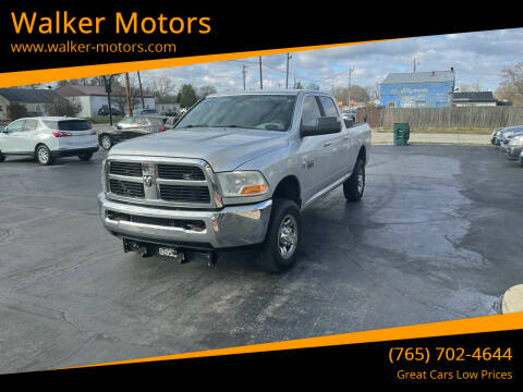 2012 RAM Ram Pickup 2500 for sale at Walker Motors in Muncie IN