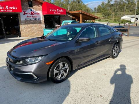 2019 Honda Civic for sale at Twin Rocks Auto Sales LLC in Uniontown PA