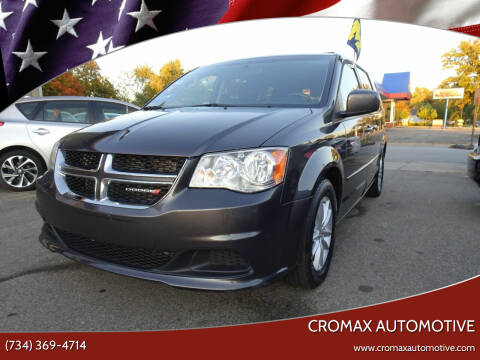 2016 Dodge Grand Caravan for sale at Cromax Automotive in Ann Arbor MI