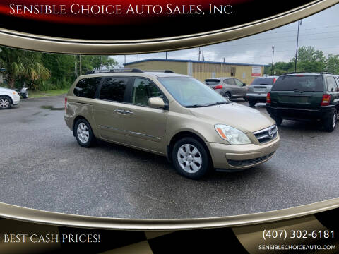 2007 Hyundai Entourage for sale at Sensible Choice Auto Sales, Inc. in Longwood FL